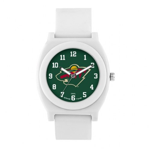Minnesota Wild Unisex Fan White Watch