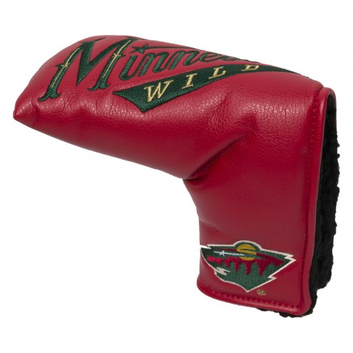 Minnesota Wild Vintage Golf Blade Putter Cover