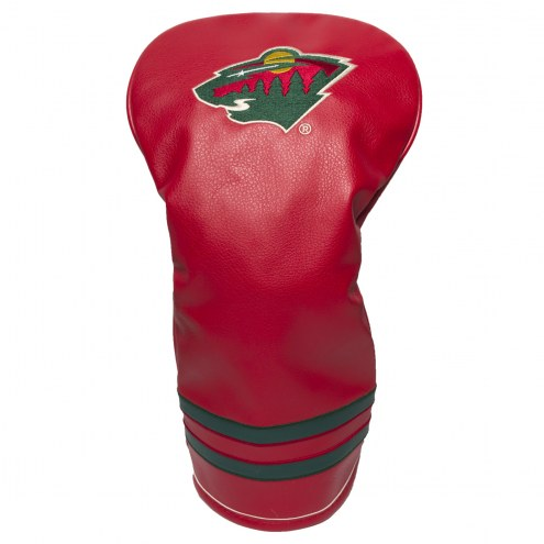 Minnesota Wild Vintage Golf Driver Headcover