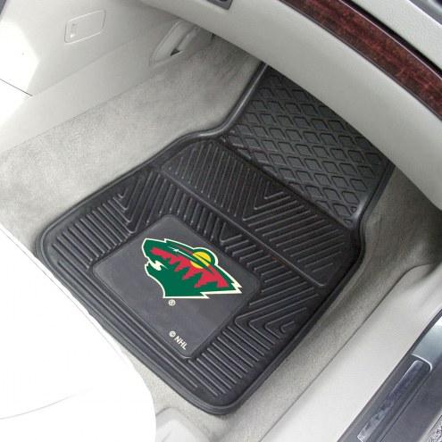 Minnesota Wild Vinyl 2-Piece Car Floor Mats