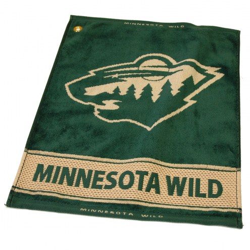 Minnesota Wild Woven Golf Towel