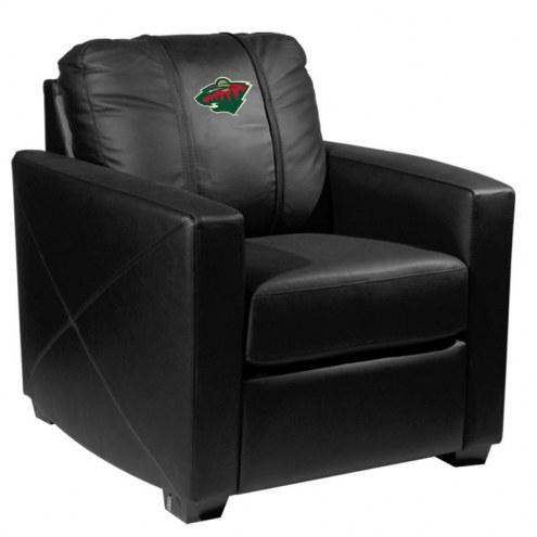 Minnesota Wild XZipit Silver Club Chair