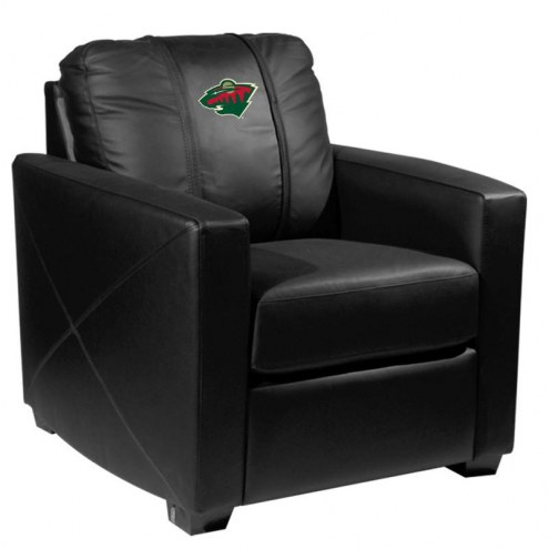 Minnesota Wild XZipit Silver Club Chair