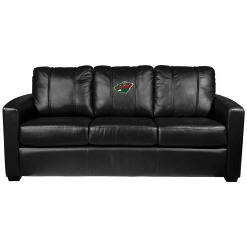 Minnesota Wild XZipit Silver Sofa