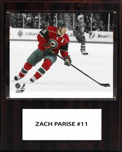 "Minnesota Wild Zach Parise 12"" x 15"" Player Plaque"