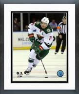 Minnesota Wild Zach Parise Action Framed Photo