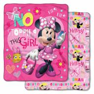 Minnie Mouse This Girl Cloud Throw Blanket