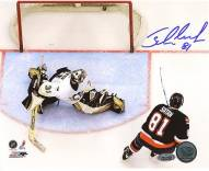 Miroslav Satan Shootout Goal vs Penguins 8 x 10 Photo