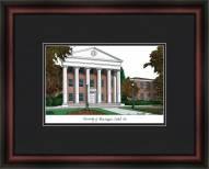 University of Mississippi Academic Framed Lithograph