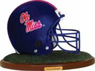 Mississippi Ole Miss Rebels Collectible Football Helmet Figurine