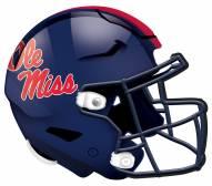"""Mississippi Rebels 12"""" Helmet Sign"""