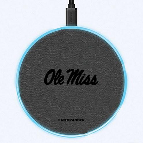 Mississippi Rebels 15W Wireless Charging Base
