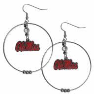 """Mississippi Rebels 2"""" Hoop Earrings"""