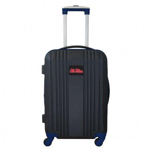 """Mississippi Rebels 21"""" Hardcase Luggage Carry-on Spinner"""