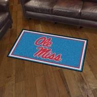 Mississippi Rebels 3' x 5' Area Rug