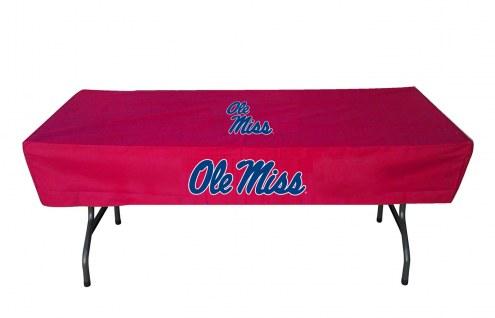 Mississippi Rebels 6' Table Cover