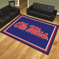 Mississippi Rebels 8' x 10' Area Rug