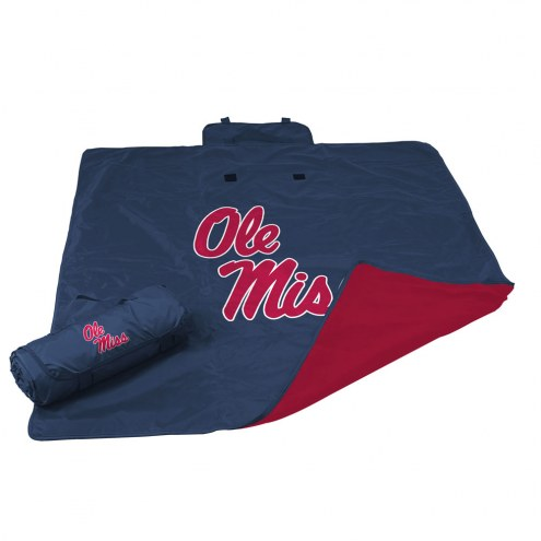 Mississippi Rebels All Weather Blanket