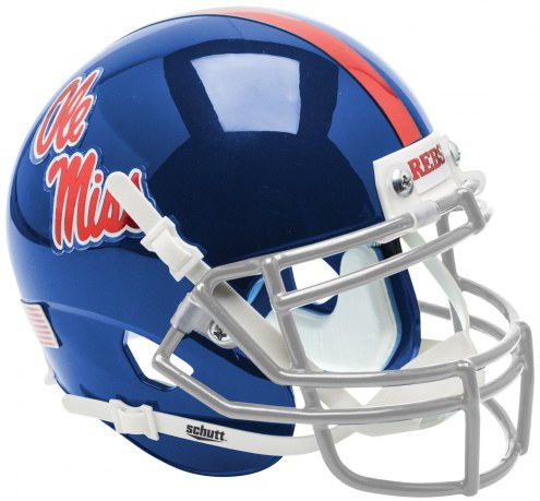 Mississippi Rebels Alternate 2 Schutt XP Collectible Full Size Football Helmet