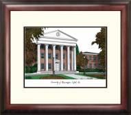 Mississippi Rebels Alumnus Framed Lithograph