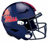 Mississippi Rebels Authentic Helmet Cutout Sign