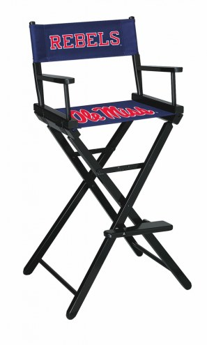 Mississippi Rebels Bar Height Director's Chair