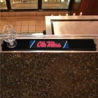 Mississippi Rebels Bar Mat