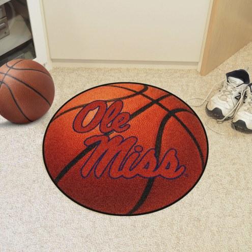 Mississippi Rebels Basketball Mat