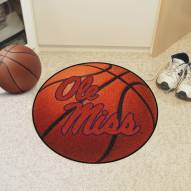 Mississippi Rebels Basketball Mat