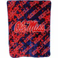 Mississippi Rebels Bedspread
