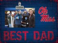 Mississippi Rebels Best Dad Clip Frame
