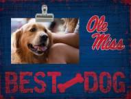 Mississippi Rebels Best Dog Clip Frame