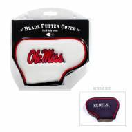 Mississippi Rebels Blade Putter Headcover