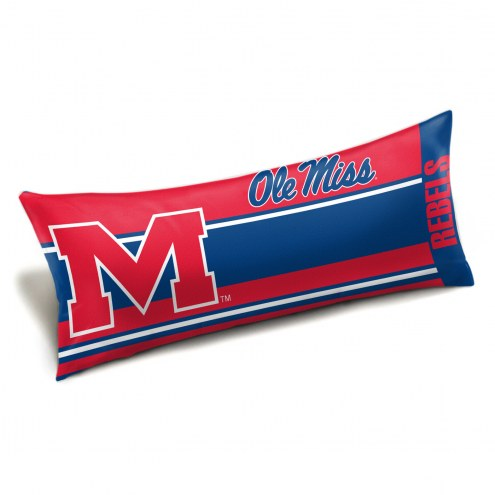 Mississippi Rebels Body Pillow