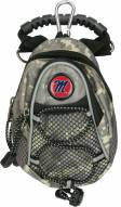 Mississippi Rebels Camo Mini Day Pack
