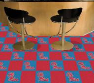 Mississippi Rebels Carpet Tiles