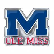 Mississippi Rebels Color Car Emblem