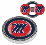 Mississippi Rebels Challenge Coin with 2 Ball Markers