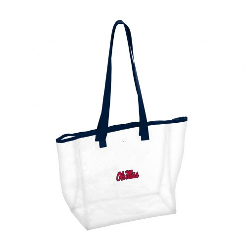 Mississippi Rebels Clear Stadium Tote