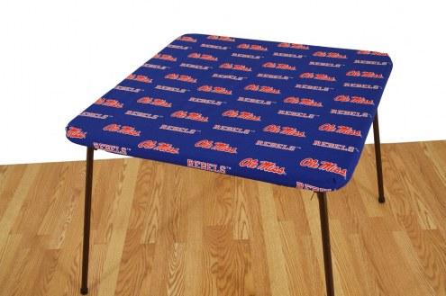 Mississippi Rebels Card Table Cover
