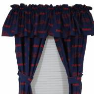 Mississippi Rebels Curtains