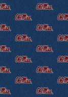 Mississippi Rebels College Repeat Area Rug