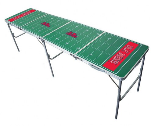 Mississippi Rebels College Tailgate Table