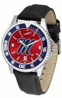 Mississippi Rebels Competitor AnoChrome Men's Watch - Color Bezel