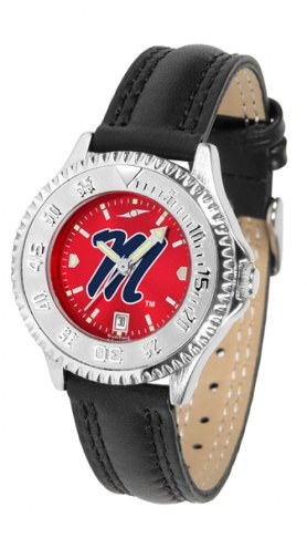 Mississippi Rebels Competitor AnoChrome Women's Watch