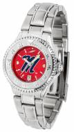 Mississippi Rebels Competitor Steel AnoChrome Women's Watch