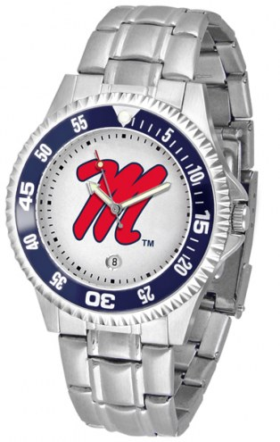 Mississippi Rebels Competitor Steel Men's Watch