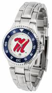 Mississippi Rebels Competitor Steel Women's Watch