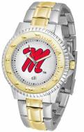 Mississippi Rebels Competitor Two-Tone Men's Watch