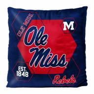 Mississippi Rebels Connector Double Sided Velvet Pillow